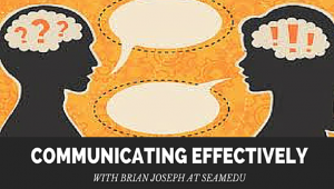 Communicating Effectively with Brian Joseph at Seamedu