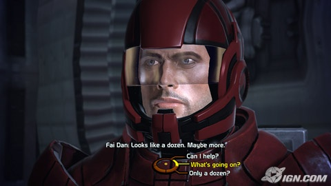 Mass Effect Dialogue Screen