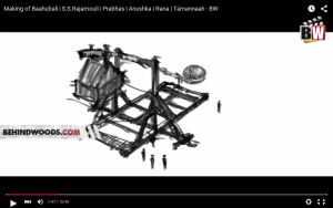 Concept Drawing of the Catapult used in the movie